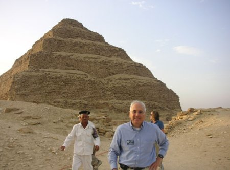 "Original ""step"" pyramid at Sakkra"
